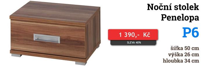 Noční stolek Penelopa P6 Maridex