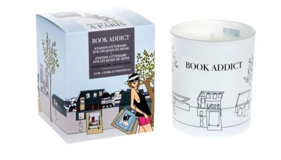 Vonná svíčka Book Addict