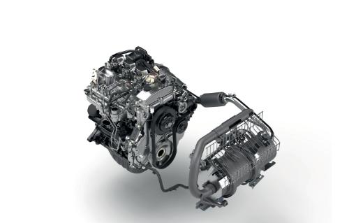 Mimořádně čistý motor Toyota 1ZS