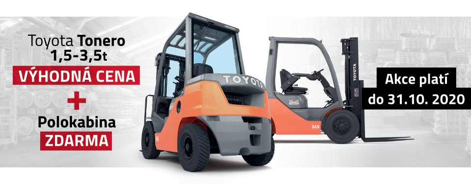 Výhodná cena nového vozíku Tonero