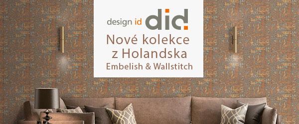 Novinka! • kolekce Embelish a Wallstitch z Holandska