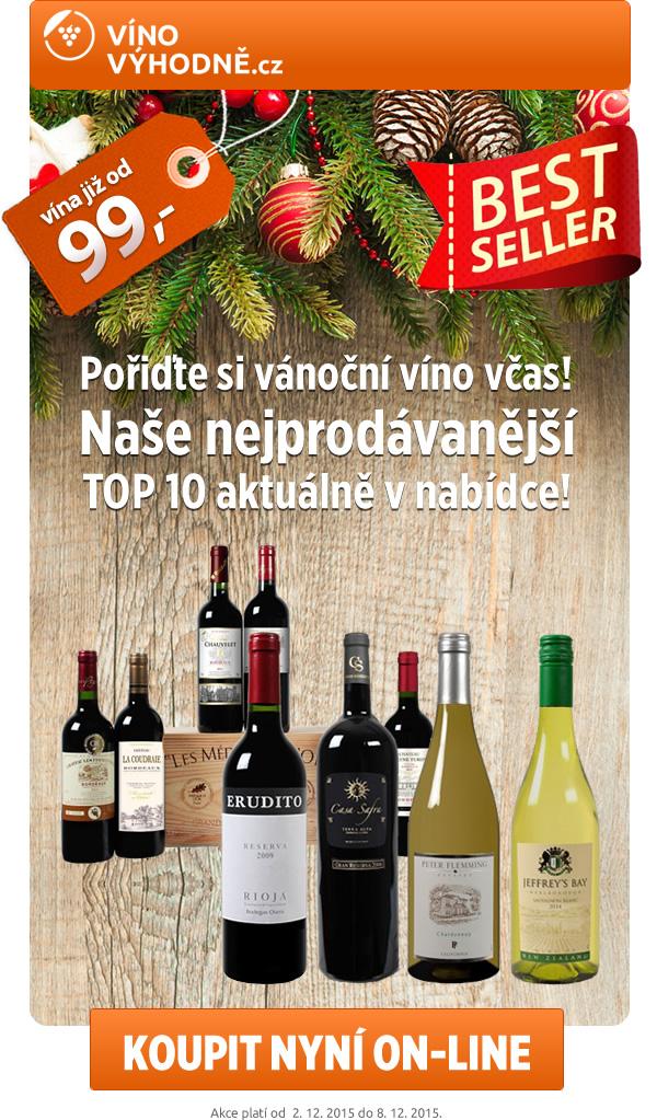 Pořiďte si vánoční víno včas!
