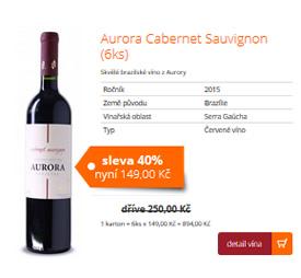 Aurora Cabernet Sauvignon (6ks)