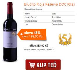Erudito Rioja Reserva DOC (6ks)