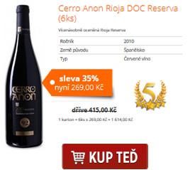 Cerro Anon Rioja DOC Reserva (6ks)