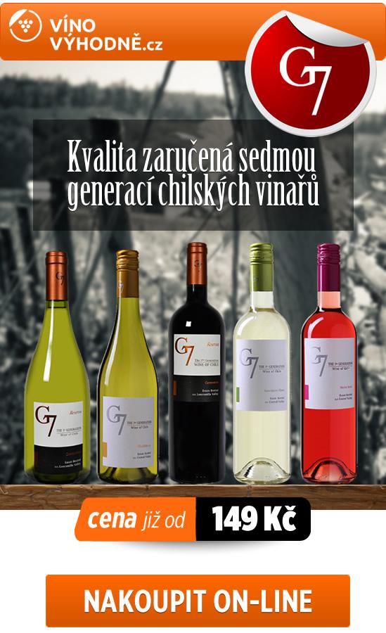 G7 - Kvalita zaručená sedmou generací chilských vinařů