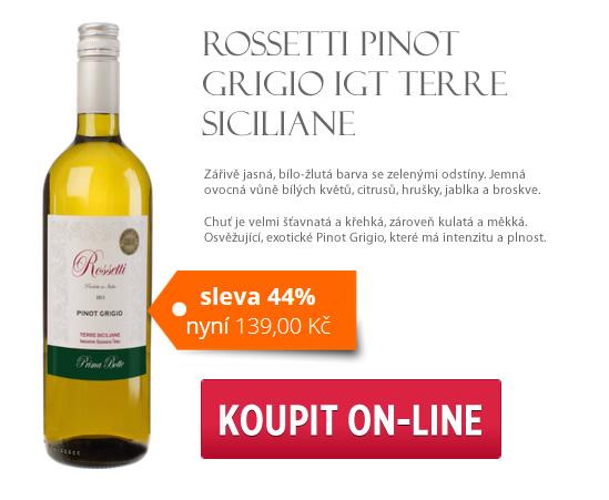 Rossetti Pinot Grigio IGT Terre Siciliane (6ks)
