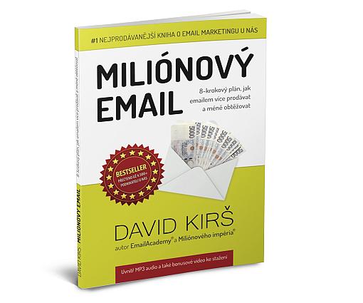 Kniha Miliónový email