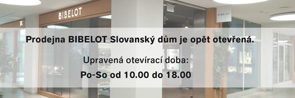Prodejna Bibelot Slovanský dům