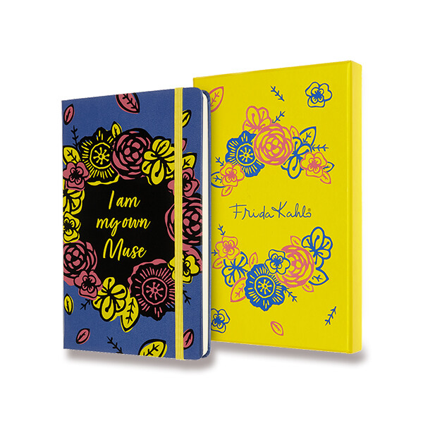 barevný zápisník Moleskine Frida Kahlo - sběratelská edice