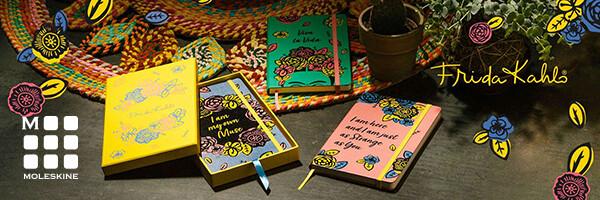 limitovaná kolekce zápisníků Moleskine Frida Kahlo