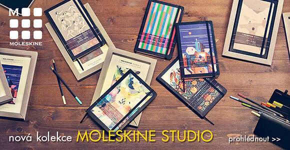 limitovaná kolekce zápisníků Moleskine Studio