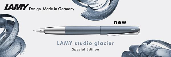 ledově modré Lamy studio glacier
