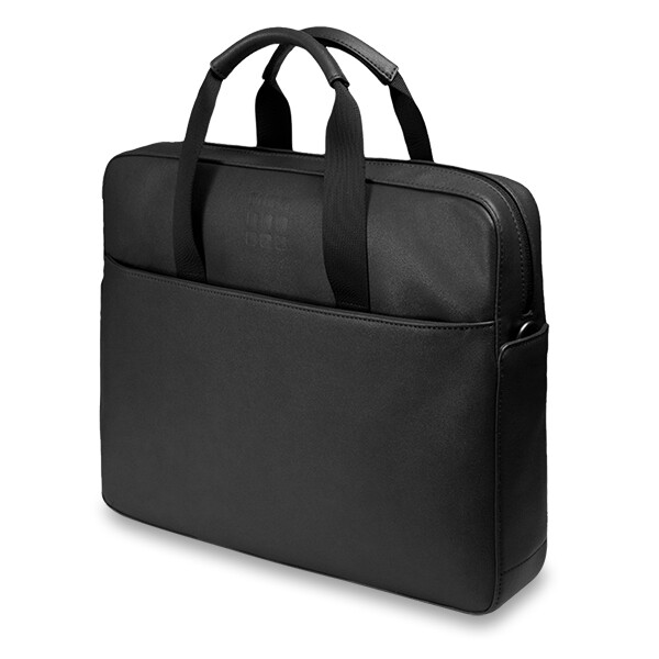 černá elegantní taška do ruky od Moleskine