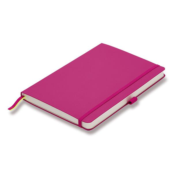 růžový zápisník Lamy
