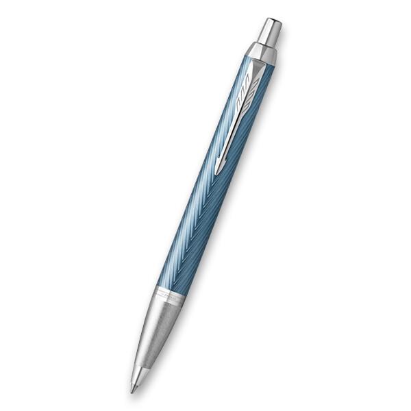světle modrá kuličková tužka Parker IM zdobená laserem